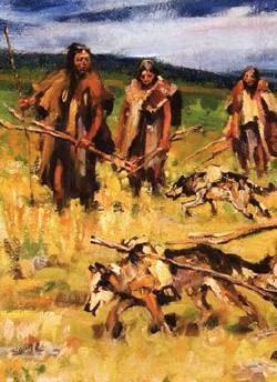 the different stereotypes of native americans during the nineteenth century How were native americans different from europeans in the 16th century  native americans had settlements, but they were nomadic, following the game.